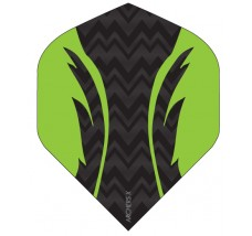 Archers X 100 Micron Pro Flights Black Green