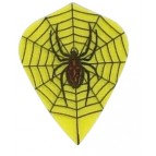 Nylon RipStop Kite Yellow Spiders web (nx527)