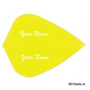 100 sets Yellow Kite Personalised