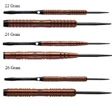 Winmau Highlander PVD Grip 90% Tungsten Darts 26g