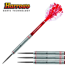Harrows Rapide 26g Ringed Grip Tungsten Steel Tip Darts Barrel