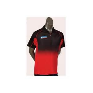 Pro Dart Shirt Black/ Red/ Red Small