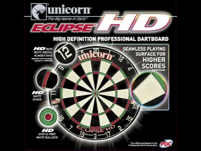 Eclipse Pro HD Dartboard Video